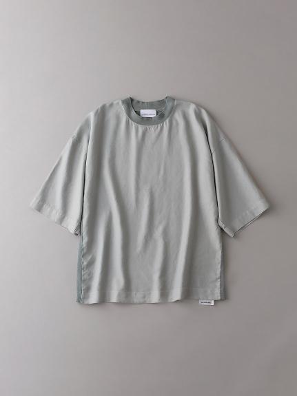 布帛×カットソーTシャツ【メンズ】