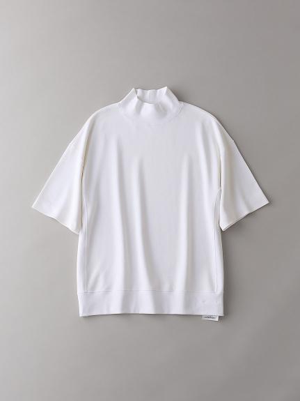 モックネックTシャツ【メンズ】(WHT-1)