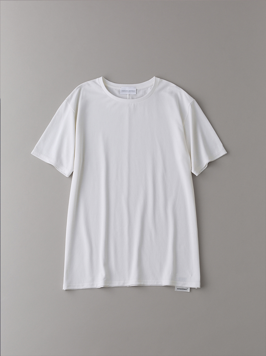 ベーシッククルーTシャツ【メンズ】(WHT-1)