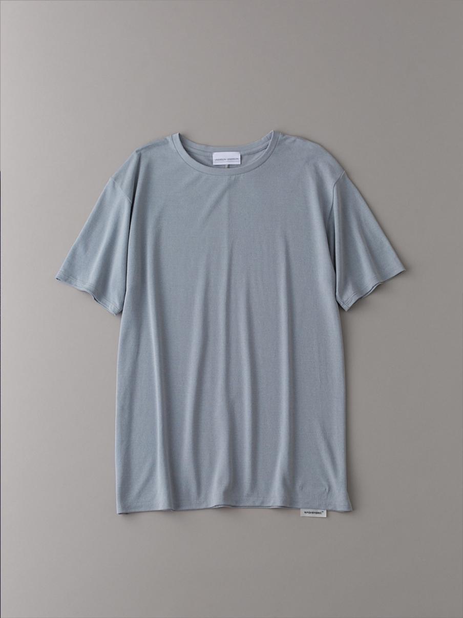 ベーシッククルーTシャツ【メンズ】(LGRY-1)
