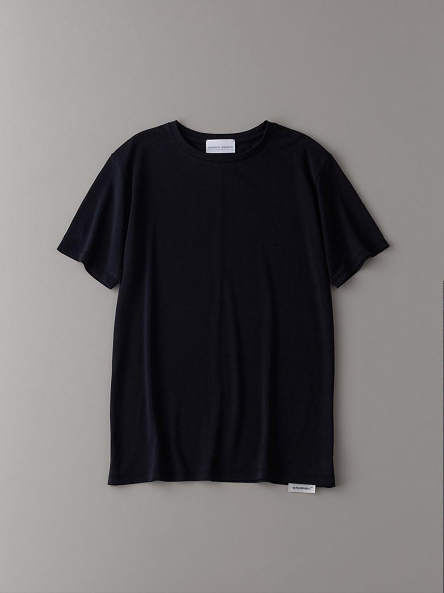 ベーシッククルーTシャツ【メンズ】(BLK-1)