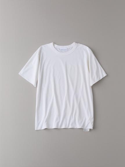 フロントダブルTシャツ【メンズ】(WHT-1)