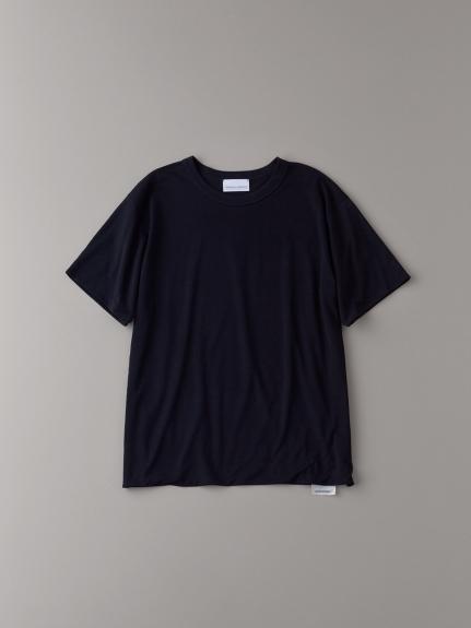 フロントダブルTシャツ【メンズ】(BLK-1)