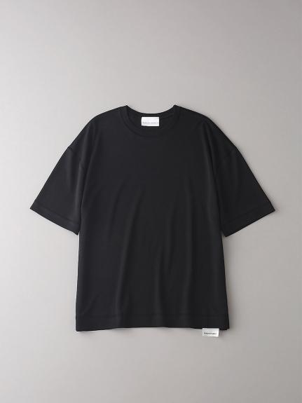 ソフトシームドロップショルダーT【メンズ】(BLK-1)
