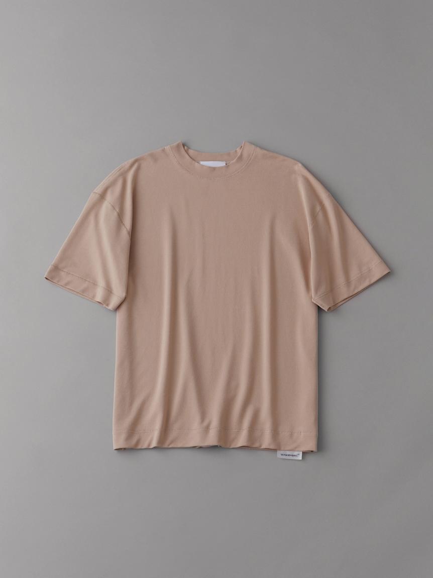 フラットシームドロップショルダーT【メンズ】(PBEG-1)