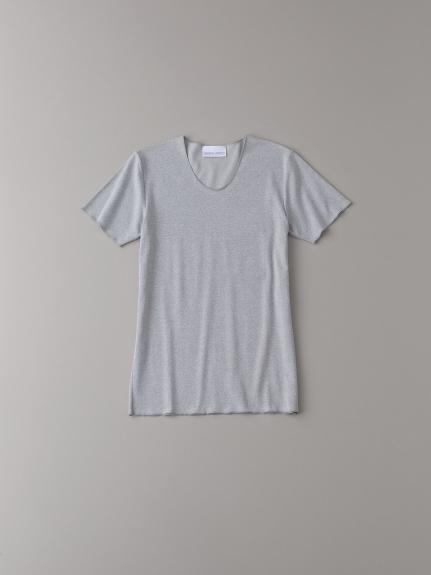 Uネックアンダーシャツ【メンズ】(GRY-0)