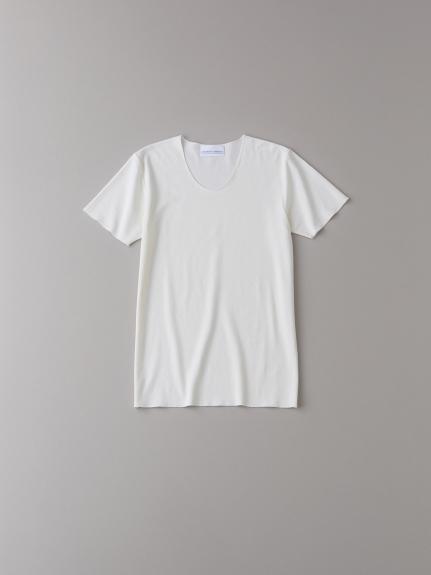 Uネックアンダーシャツ【メンズ】(NATURAL-0)
