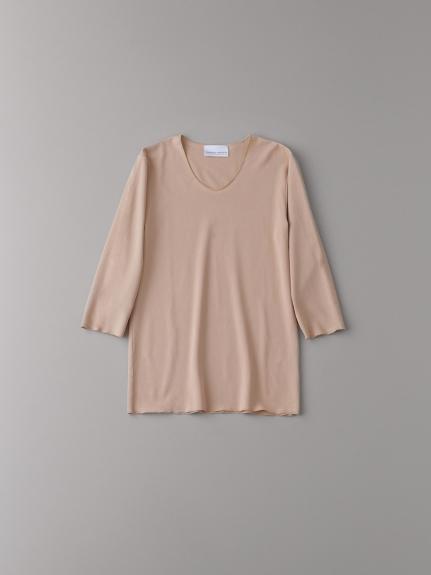 Uネック7分袖アンダーシャツ【メンズ】(PBEG-0)
