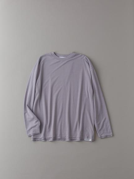 オールダブルロングスリーブTシャツ【メンズ】(LILAC-1)