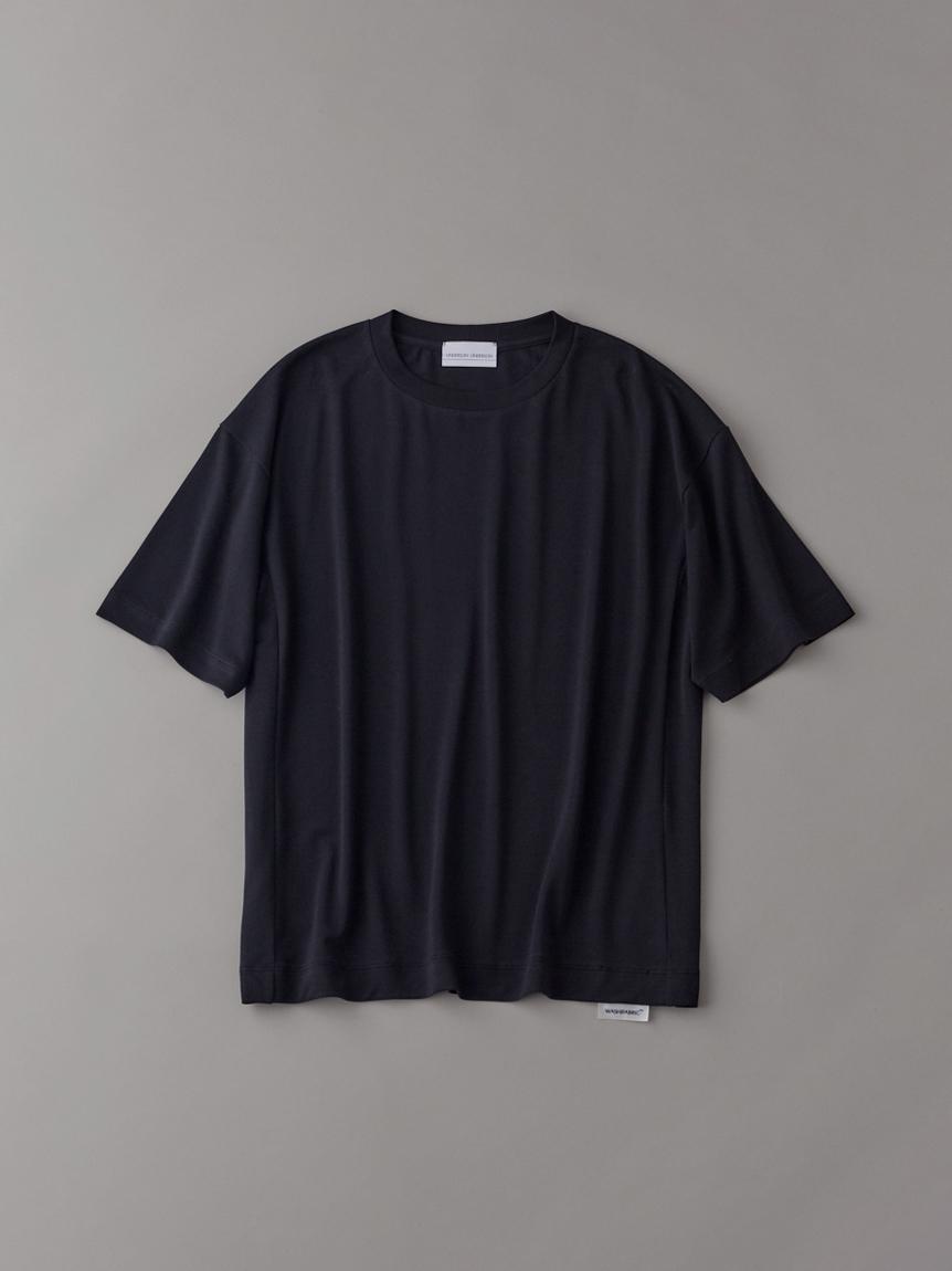 ロゴTシャツ【メンズ】(BLK-1)
