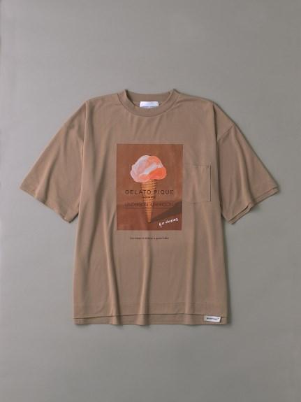 UNDERSON UNDERSON × GELATO PIQUE HOMME コラボメンズTシャツ(PBEG-1)