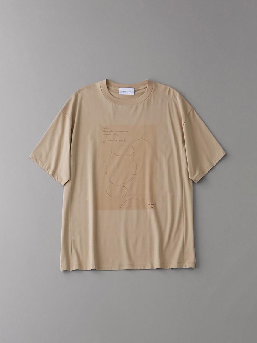 ORGグラフィックTシャツvol_3【メンズ】(BEG-1)