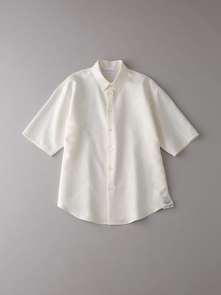 パジャマショートスリーブシャツ【メンズ】(NATURAL-1)