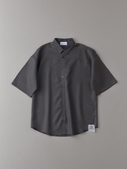 ダブルクロスショートスリーブシャツ【メンズ】(CGRY-1)