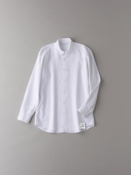 ショートカラーシャツ【メンズ】(WHT-1)