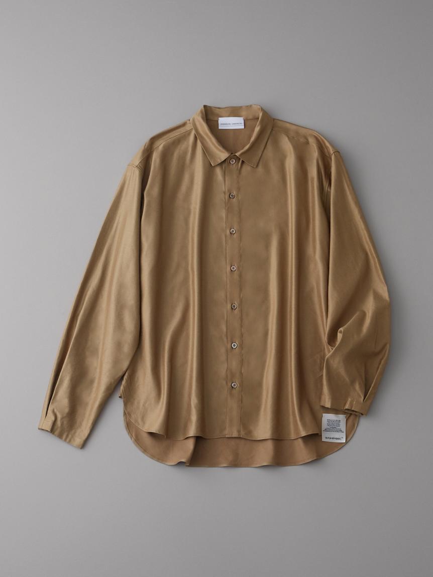 ウォームサテンシャツ【メンズ】
