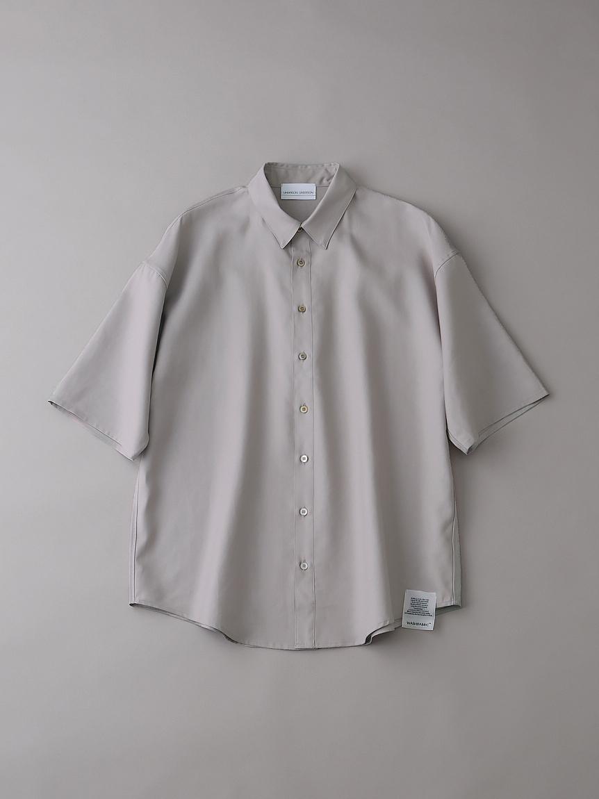 ダブルクロスショートスリーブシャツ【メンズ】(BEG-1)