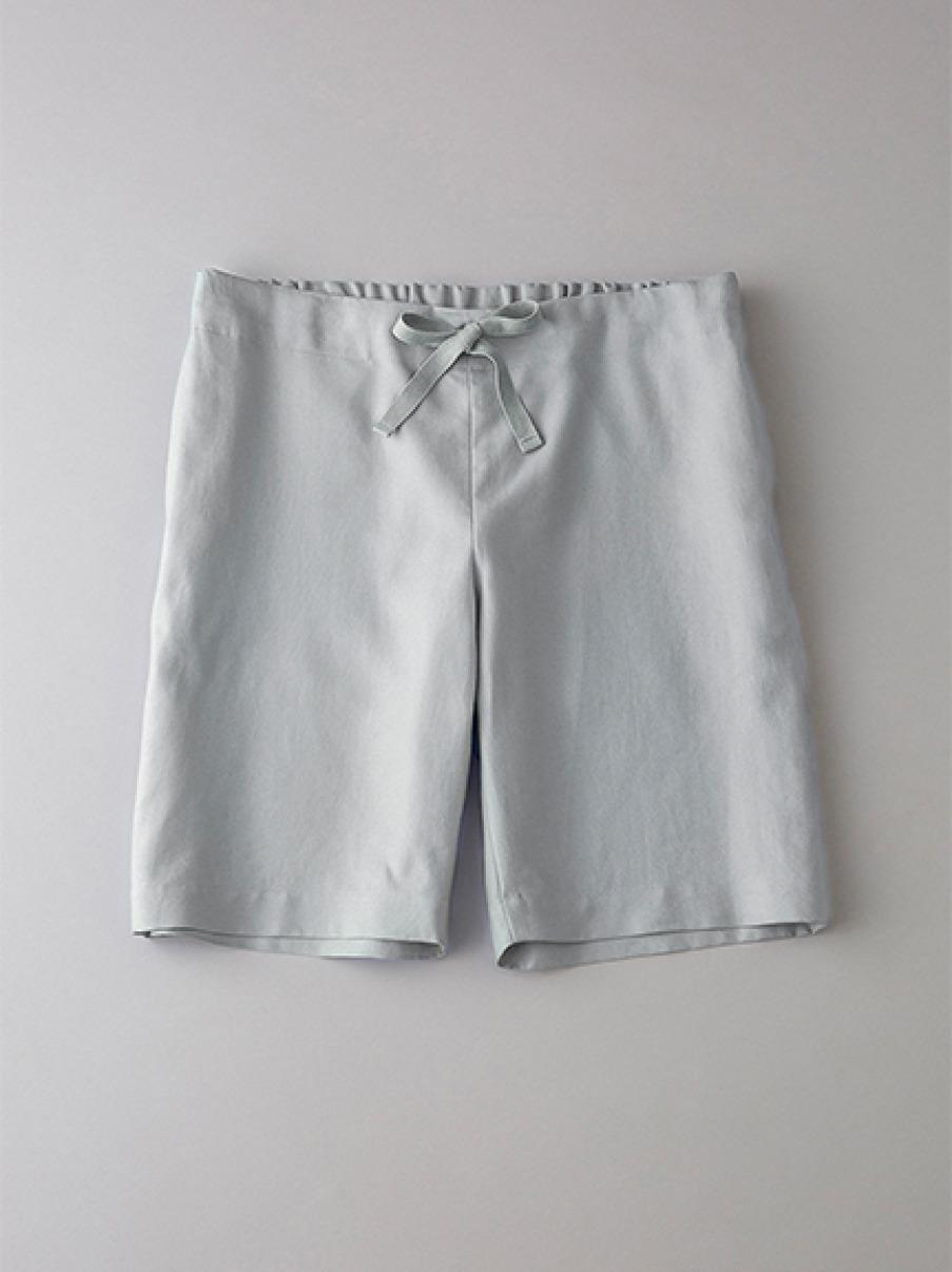 ボタニカル パジャマショーツ【メンズ】(LGRY-1)
