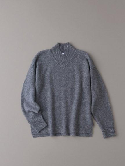 Vハイネックセーター【メンズ】