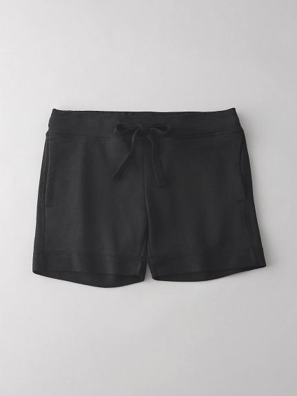 インレイ スウェットショートパンツ【ウィメンズ】(BLK-0)