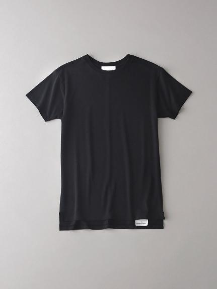 ベーシッククルーネックTシャツ【ウィメンズ】(BLK-0)