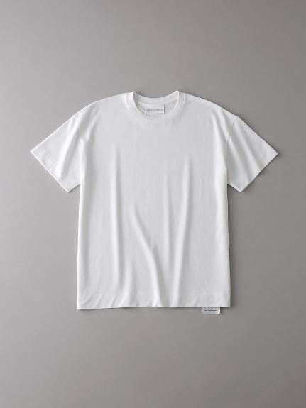 ドロップショルダー クルーネックTシャツ【ウィメンズ】(WHT-0)