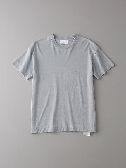ドロップショルダー クルーネックTシャツ【ウィメンズ】(LGRY-0)