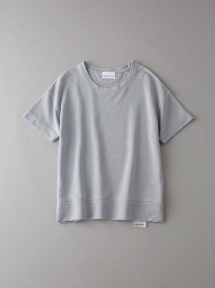 インレイ クルーネックスウェットTシャツ【ウィメンズ】(LGRY-0)