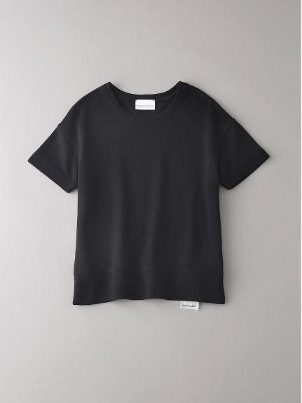 インレイ クルーネックスウェットTシャツ【ウィメンズ】(BLK-0)