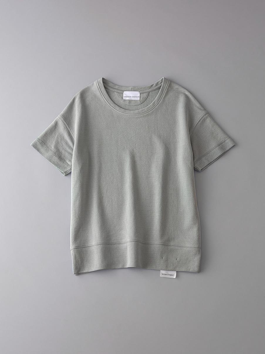 ボタニカル インレイ クルーネックスウェットTシャツ【ウィメンズ】(KKI-0)