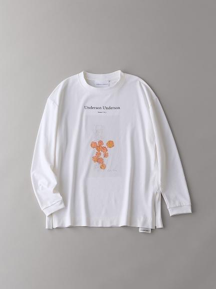 リラックスグラフィックロングスリーブTシャツVol.2【ウィメンズ】(WHT-1)