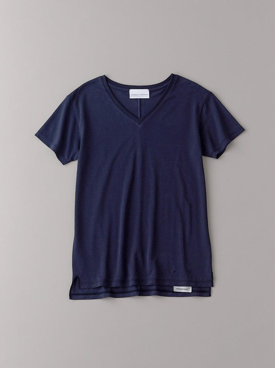 ベーシックVネックTシャツ【ウィメンズ】(DNVY-0)