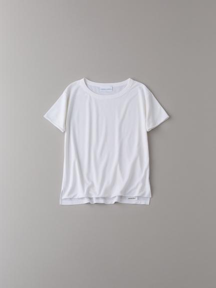 フロントダブルTシャツ【ウィメンズ】(WHT-0)