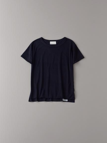 フロントダブルTシャツ【ウィメンズ】(BLK-0)