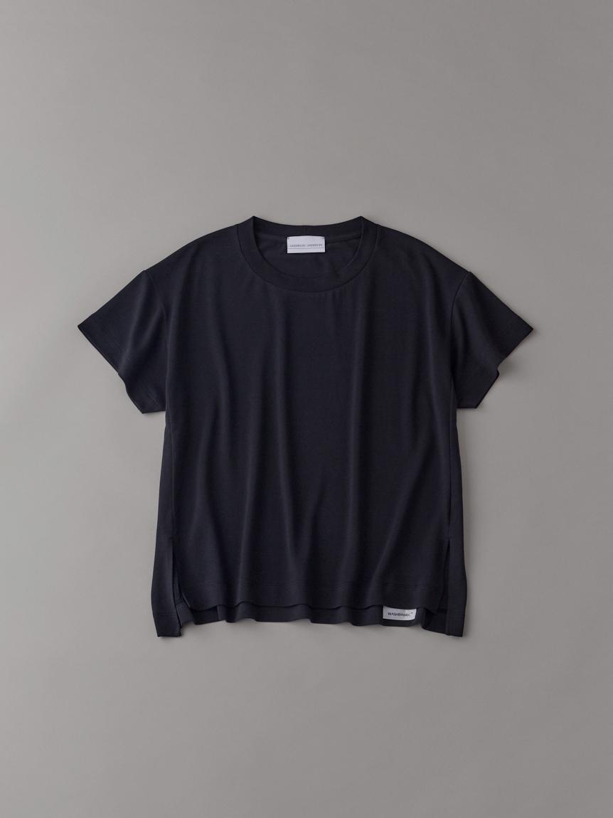ロゴTシャツ【ウィメンズ】(BLK-1)