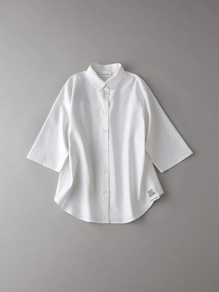 パジャマショートスリーブシャツ【ウィメンズ】(WHT-0)