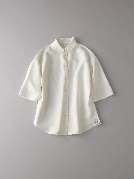 パジャマショートスリーブシャツ【ウィメンズ】(NATURAL-0)