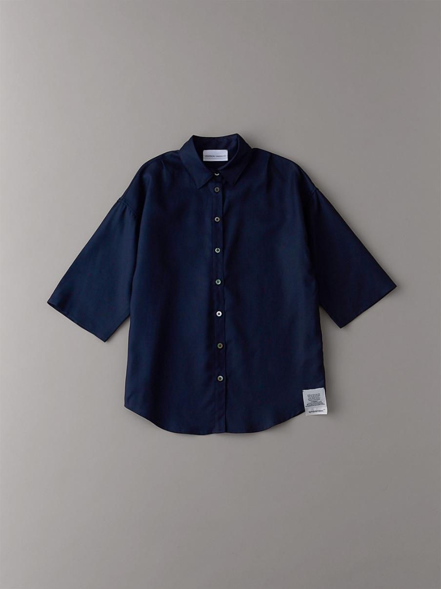 ダブルクロスショートスリーブシャツ【ウィメンズ】(DNVY-0)