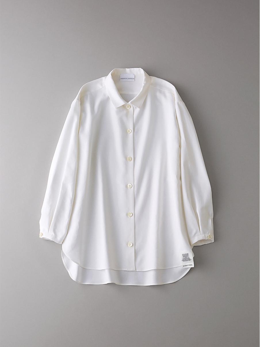 ダブルクロスシャツ【ウィメンズ】(WHT-0)