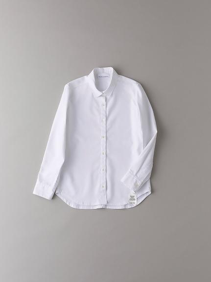ショートカラーシャツ【ウィメンズ】(WHT-0)