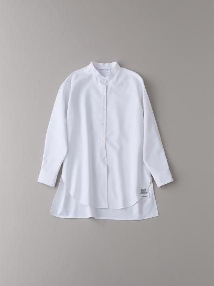 バンドカラーシャツ【ウィメンズ】(WHT-0)