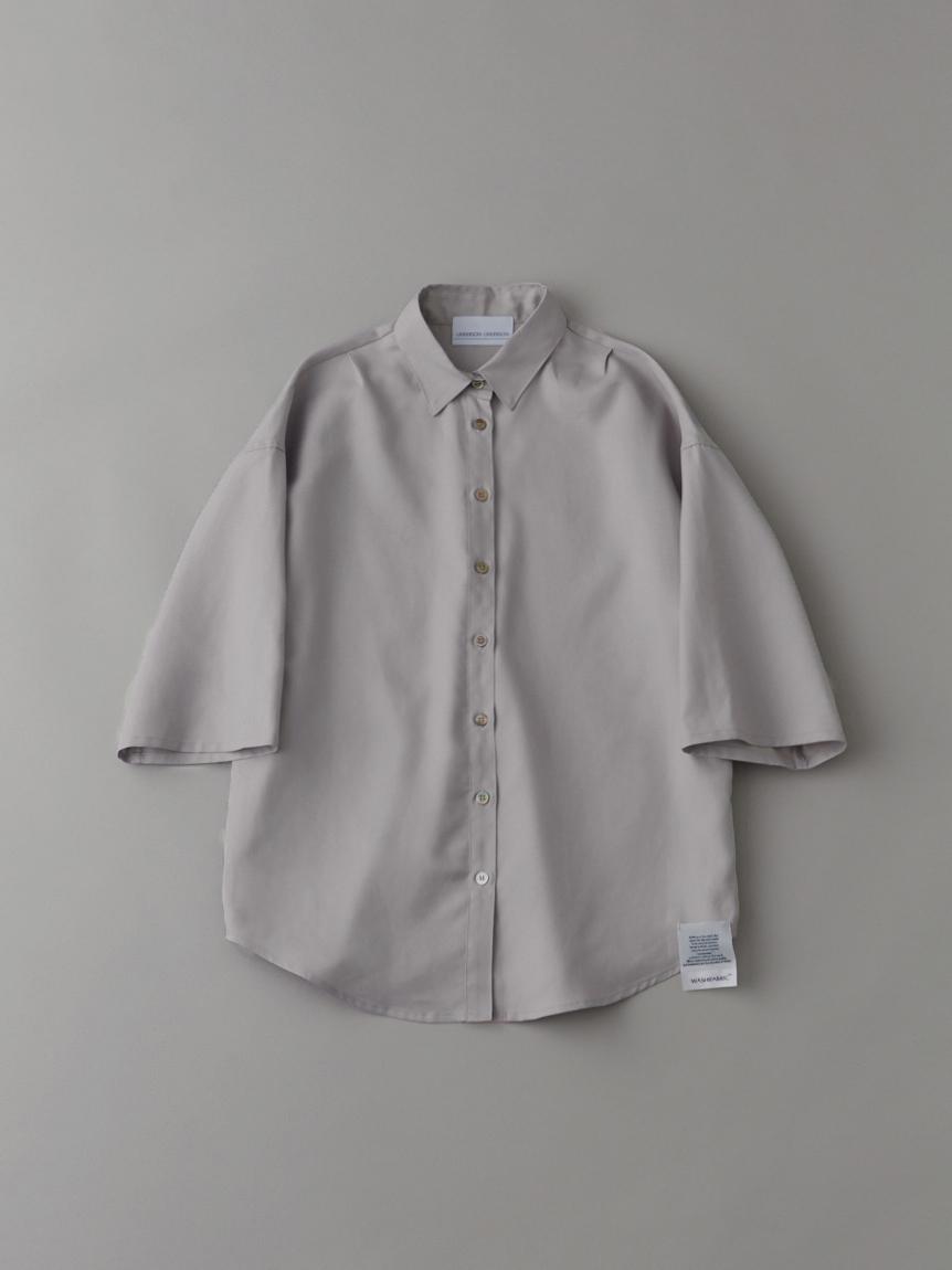 ダブルクロスショートスリーブシャツ【ウィメンズ】(BEG-0)
