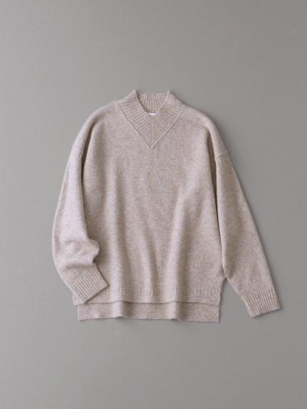 Vハイネックセーター【ウィメンズ】