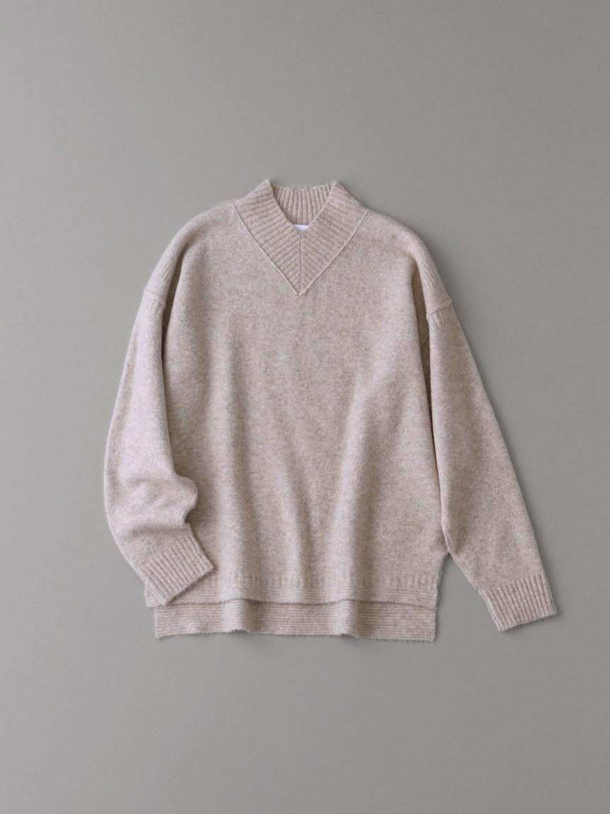 Vハイネックセーター【ウィメンズ】(PBEG-1)
